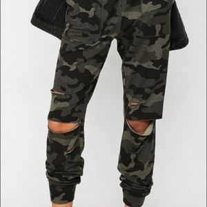 Express womens joggers